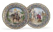 Товарищество М. С. Кузнецова: Тарелки «Русские былины»
