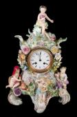 Мейсен /Meissen/ мануфактура: Часы «ВРЕМЕНА ГОДА»